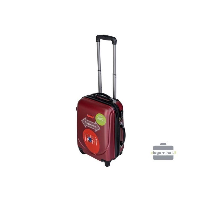 Väike kohver Gravitt 310-M tume punane