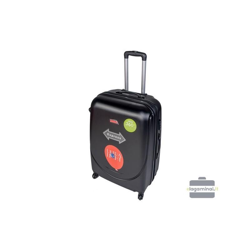 Väike kohver Gravitt 310-M must