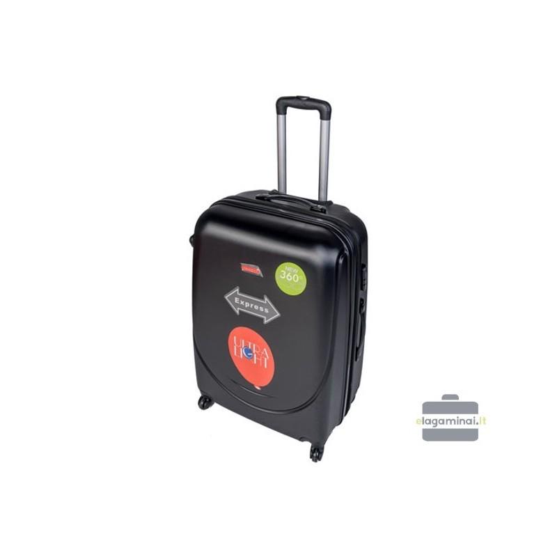 Keskmise suurusega kohver Gravitt 310-V must
