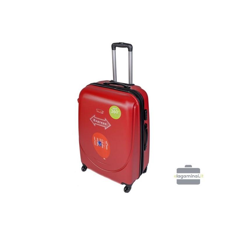 Suur kohver Gravitt 310-D punane