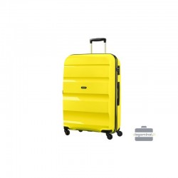 Keskmise suurusega kohver American Tourister Bon Air V kollane