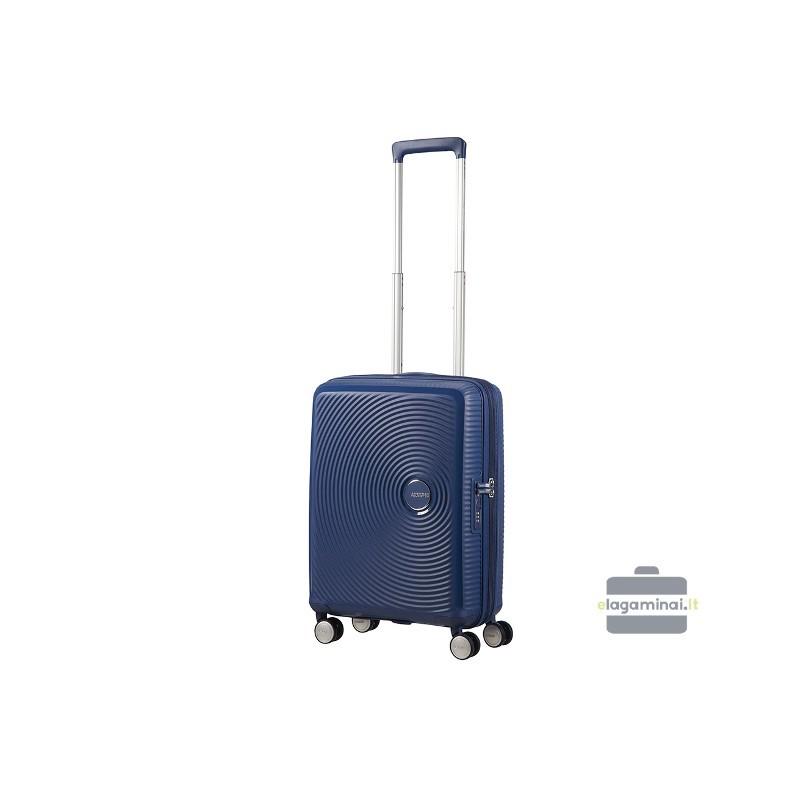Väike kohver American Tourister Soundbox M dark blue