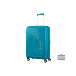 Suur kohver American Tourister Soundbox D blue