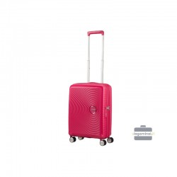 Väike kohver American Tourister Soundbox M punane