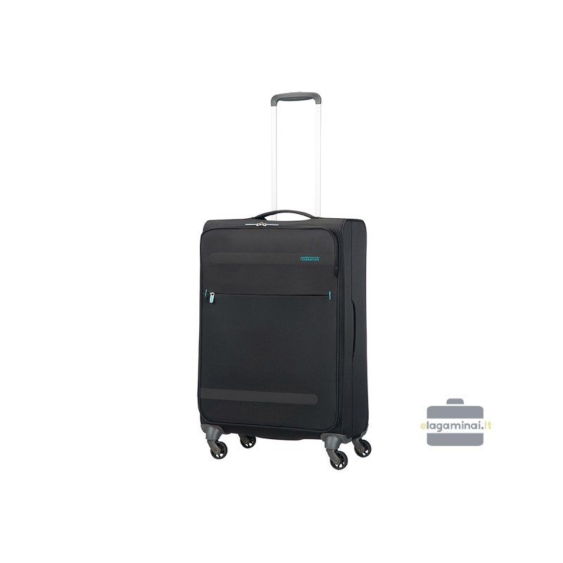 Keskmise suurusega kohver American Tourister Herolite V black