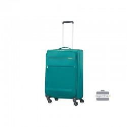 Keskmise suurusega kohver American Tourister Herolite V green