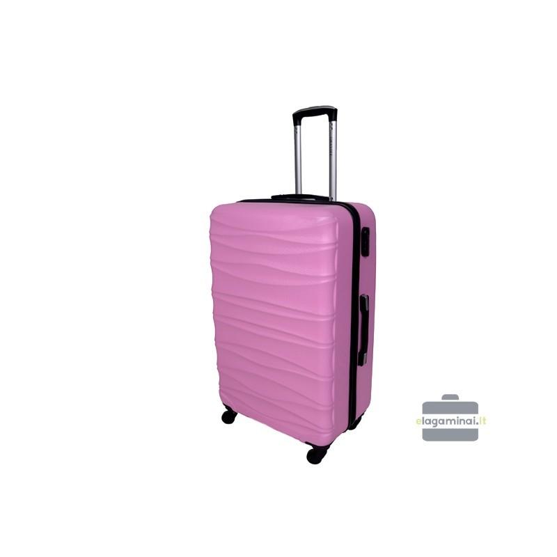 Suur kohver Gravitt 117-D roosa