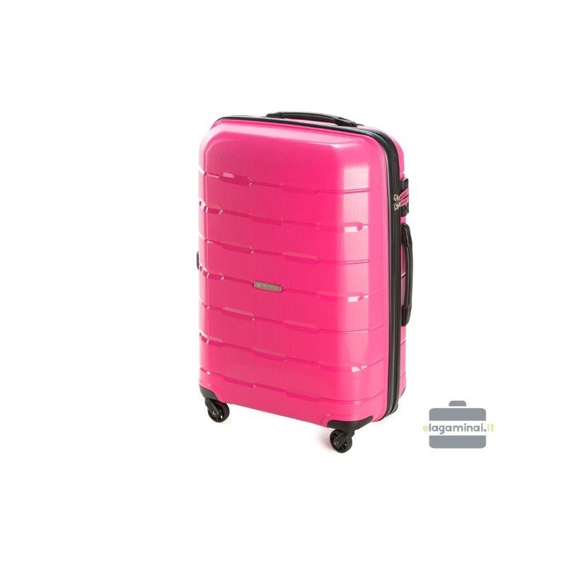 Keskmise suurusega kohver Wittchen 56-3T-722 roosa
