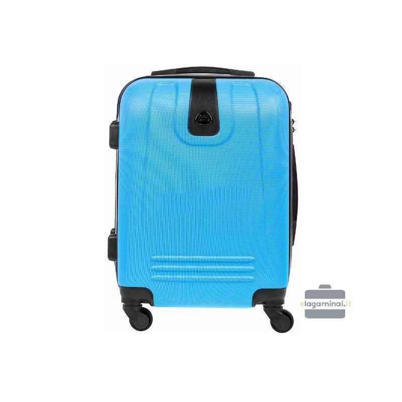 Käsipagasi kohvrid Bagia 8078-M valgus sinine