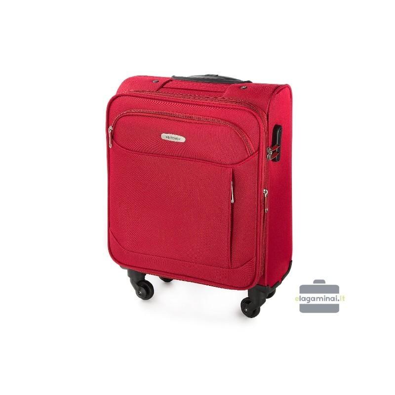 Käekott kohvris Wittchen V25-3S-521-M punane