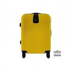 Käsipagasi kohvrid Bagia 8078-M yellow