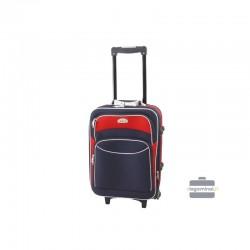 Käsipagasi kohvrid Deli 101-M sinine-punane