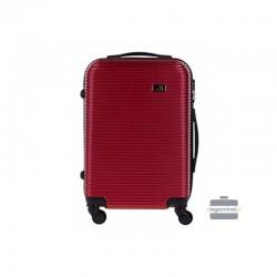 Käsipagasi kohvrid Bagia 8080-M tume punane