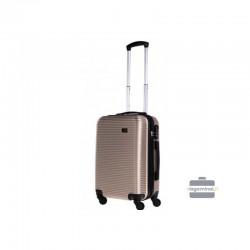 Käsipagasi kohvrid Bagia 8080-M šampanja värv