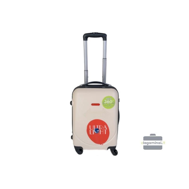 Käsipagasi kohvrid Gravitt 310-M cream värv
