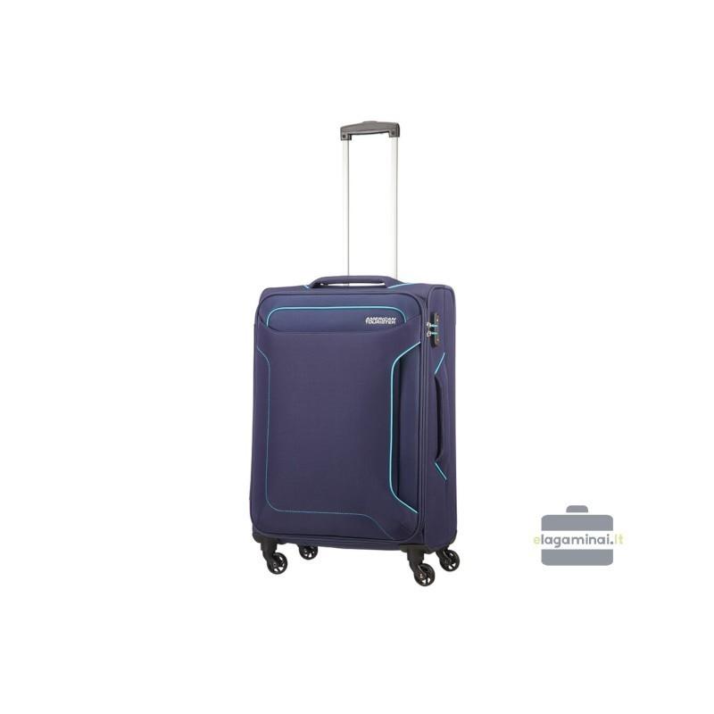 Keskmise suurusega kohvrid American Tourister Holiday Heat V tume sinine