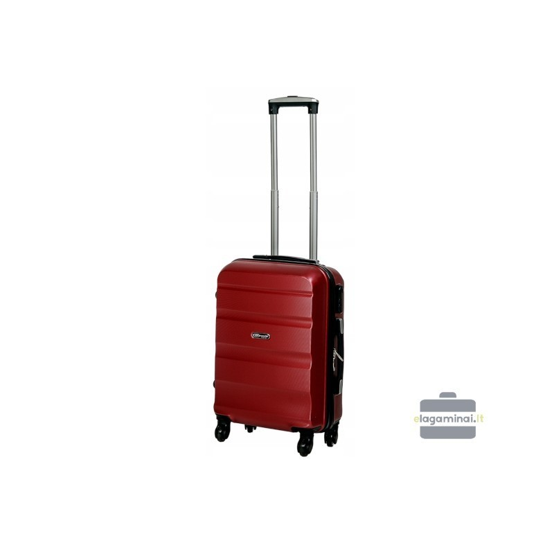 Käsipagasi kohvrid Gravitt Travel 710-M tume punane