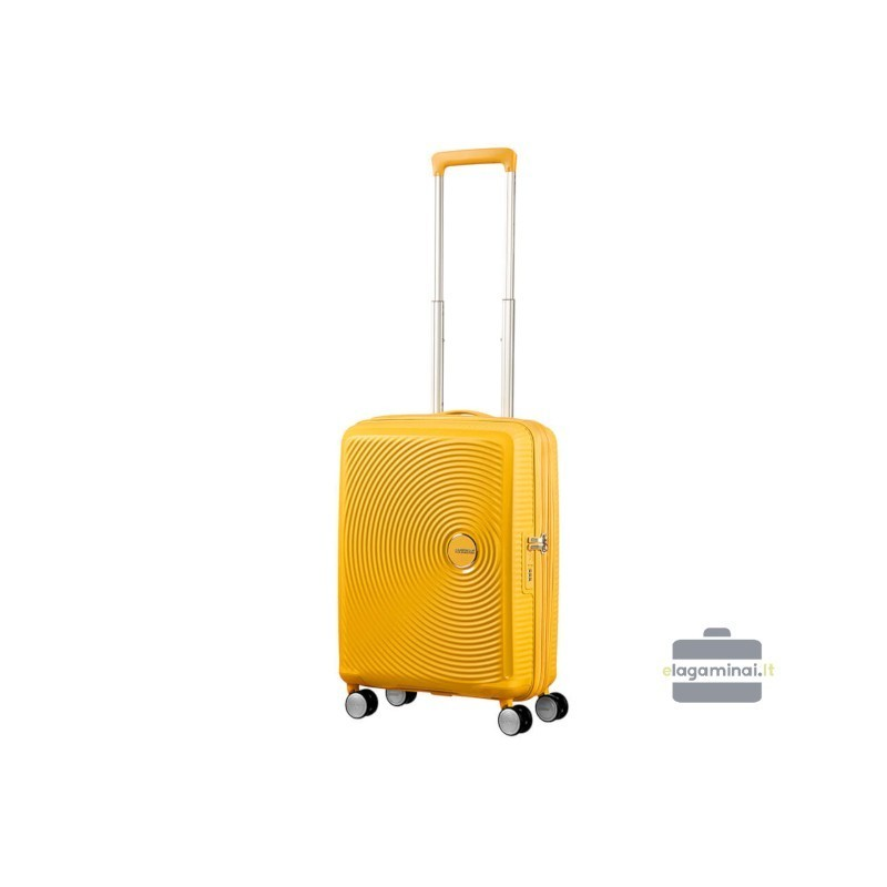 Käsipagasi kohvrid American Tourister Soundbox M kollane