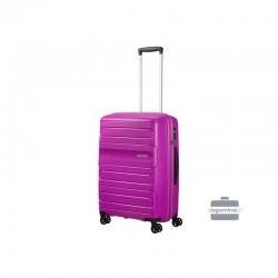 Keskmise suurusega kohvrid American Tourister Sunside V lilla