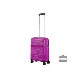 Käsipagasi kohvrid American Tourister Sunside M lilla