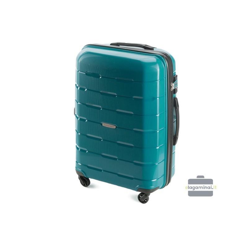 Keskmise suurusega kohvrid Wittchen 56-3T-722 roheline