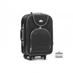 Käsipagasi kohvrid Suitcase 801-M must