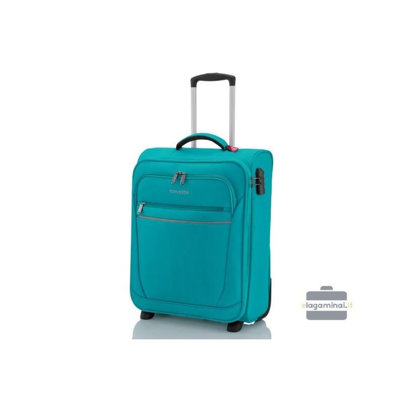 Travelite Cabin türkiissinine värv käsipagasi kohvrid