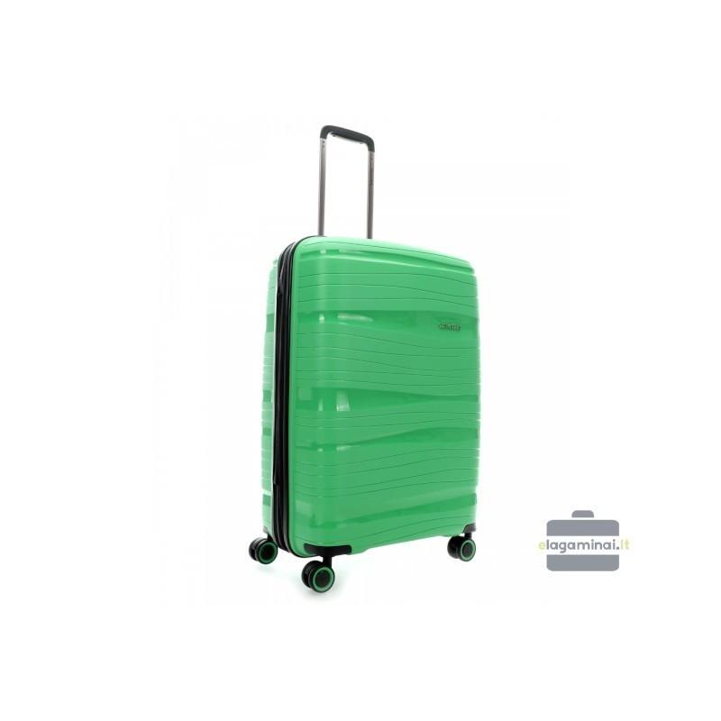 Travelite Motion V roheline keskmise suurusega kohvrid
