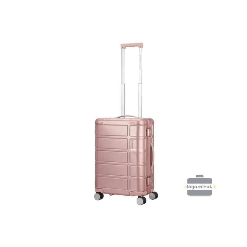 Käsipagasi alumiiniumist American Tourister Alumo M roosa